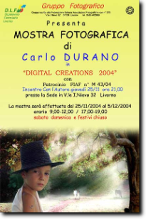 2004 - Personal exhibition in the city of Livorno