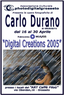 2005 - Personal exhibition in the city of Grosseto