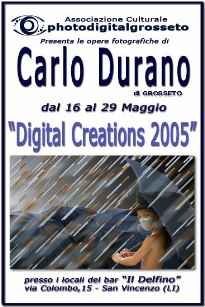 2005 - Personal exhibition in the city of San Vincenzo