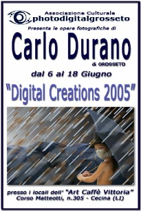 2005 - Personal exhibition in the city of Cecina