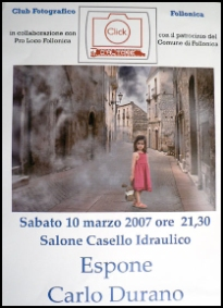 2007 - Personal exhibition in the city of Follonica
